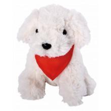 BENNI plüss kutya, fehér