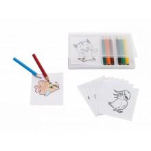 CRAZY ANIMAL színes ceruza készlet