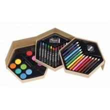 COLOURFUL LEVEL színező és festő készlet