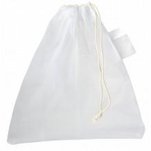 BLUE PLANET hálós táska, tasak gyümölcs és zöldség számára, fehér